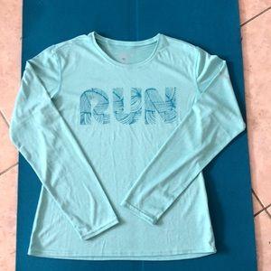 Brooks long-sleeved athletic wear running shirt LN